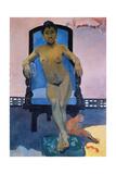 Aita Tamari Vahine (La Javanaise) Giclee Print by Paul Gauguin