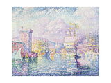 La Tour Rose, Marseille Giclee Print by Paul Signac