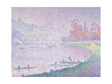 Die Seine Bei Saint-Cloud, 1900 Giclee Print by Paul Signac