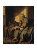 The Apostle Paul in Prison, 1627 Giclee Print by  Rembrandt van Rijn