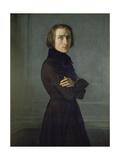 Franz Liszt Giclee Print by Henri Lehmann