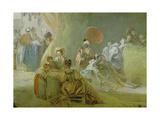 The Festival in the Park of St. Cloud, 1778-80 Reproduction procédé giclée par Jean-Honoré Fragonard