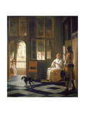 The Letter Giclee Print by Pieter Geerard Sjamaar