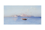 View of Capri Giclee Print by Friedrich Nerly