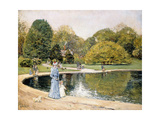 Central Park Giclee Print by Frederick Childe Hassam