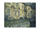 The Summer House Gicléetryck av Henri Le Sidaner
