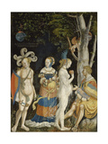 The Judgement of Paris Giclee Print by Niklaus Manuel I Deutsch