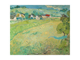 Sunny Meadow Near Auvers, 1890 Giclee Print by Vincent van Gogh