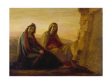 The Two Maries at Christ's Tomb, 1858 Giclée-Druck von Philipp Veit