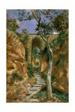 Bridge in Vico, 1858 Giclee Print by Nikolai Gay
