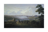 View of Dunbarton and the River Clyde, 1817 Giclee Print by Robert Sterl