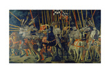 The Battle of San Romano, 1432 Giclée-tryk af Paolo Uccello