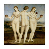 The Three Graces, C. 1502-3 Giclee Print by  Raffael