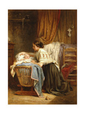 Her Pride and Joy, 1866 Giclee Print by Léon-Emile Caille
