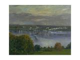 Lake Starnberg Giclee Print by Franz Skarbina