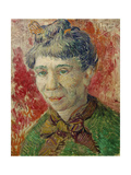 Portrait of a Woman, 1886-87 ジクレープリント : フィンセント・ファン・ゴッホ