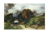 Windy Hilltop - Amagansett, L.I. 1901 Giclee Print by Thomas Robins Jr