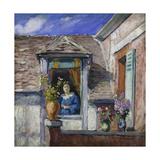 Woman at the Window (Femme a La Fenetre) Giclee Print by Henri Lebasque