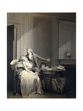 The Letter or the Fainting (La Lettre or L'Evanouissement) Giclee Print by Louis-Léopold Boilly