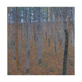 Beech Forest, before 1905 Giclee Print by Gustav Klimt