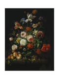 Still Life with Flowers and Fruit, 1707 Giclee Print by Rachel Ruysch
