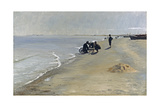 Southern Beach at Skagen, 1884 Giclee Print by Peter Severin Kroyer