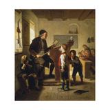 Class (Schulstunde), 1880 Giclee Print by Julius Geerts