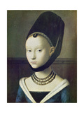 Portrait of a Young Woman, C. 1470 Giclee Print by Philip James De Loutherbourg
