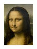 Mona Lisa, (Detail) 1503-1506 Art by  Leonardo da Vinci