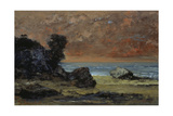 After the Storm, 1872 Giclee Print by Gustave Courbet