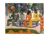 Ta Matete (The Market), 1892 Giclee Print by Paul Gauguin