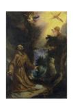Der Hl, Franziskus Empfaengt Die Stigmata Giclee Print by Lodovico Cigoli