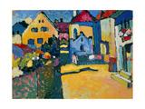 Gruengasse, Murnau, 1909 Giclee Print