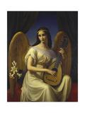 Mignon, 1828 Lámina giclée por Friedrich Wilhelm von Schadow
