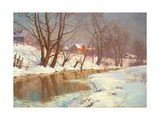 Winter Morning at a Stream Giclee Print by Walter Launt Palmer