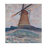 Windmill, 1917 Giclee Print by Piet Mondrian