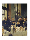 Before the Operation, or Doctor Pean Teaching at Saint-Louis Hospital, 1887 Giclee Print by Henri Gervex