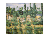 Schloss Medan, Um 1880 Giclee Print by Paul Cézanne