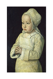 Portrait of Suzanne of Bourbon (Named the Praying Child), 1492-93 Giclee Print by Jean Hey