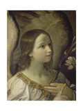 The Annunciation (panel) Giclée-Druck von Guido Reni