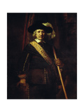 The Standard Bearer Floris Soop, 1654 Print by  Rembrandt van Rijn