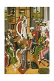 The Twelve Year-Old Jesus in the Temple, Westphalia, C. 1450 Giclee Print