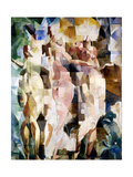 The Three Graces, 1912 Reproduction procédé giclée par Robert Delaunay