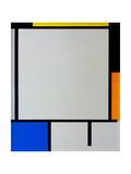 Composition Print by Piet Mondrian