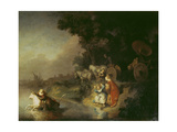 The Abduction of Europa, 1632 Prints by  Rembrandt van Rijn