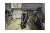 The Parquet Planers, 1875 Giclee Print by Gustave Caillebotte