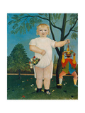 Child with Jumping Jack, 1903 Giclee Print by Henri Rousseau