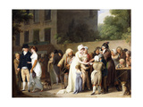 Street Conjurors on a Boulevard (L' Escamoteur Sur Le Boulevards), 1806 Giclee Print by Louis-Léopold Boilly