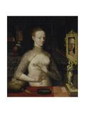 Diane De Poitiers Giclee Print by  Schule von Fontainebleau