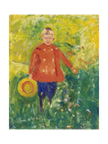 Boy with Red Jacket, 1903 Giclee Print